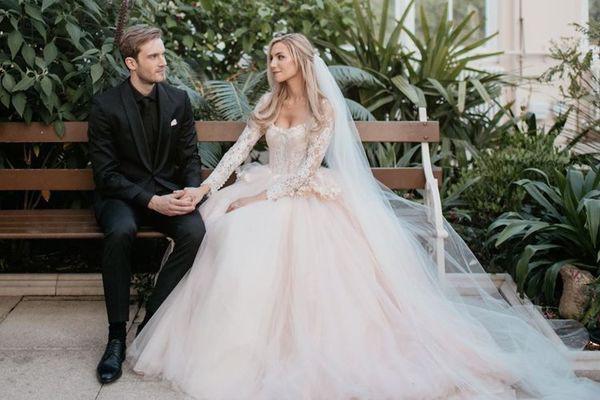 Ngắm bộ ảnh cưới đẹp như trong truyện cổ tích của ông hoàng YouTube PewDiePie - ảnh 5