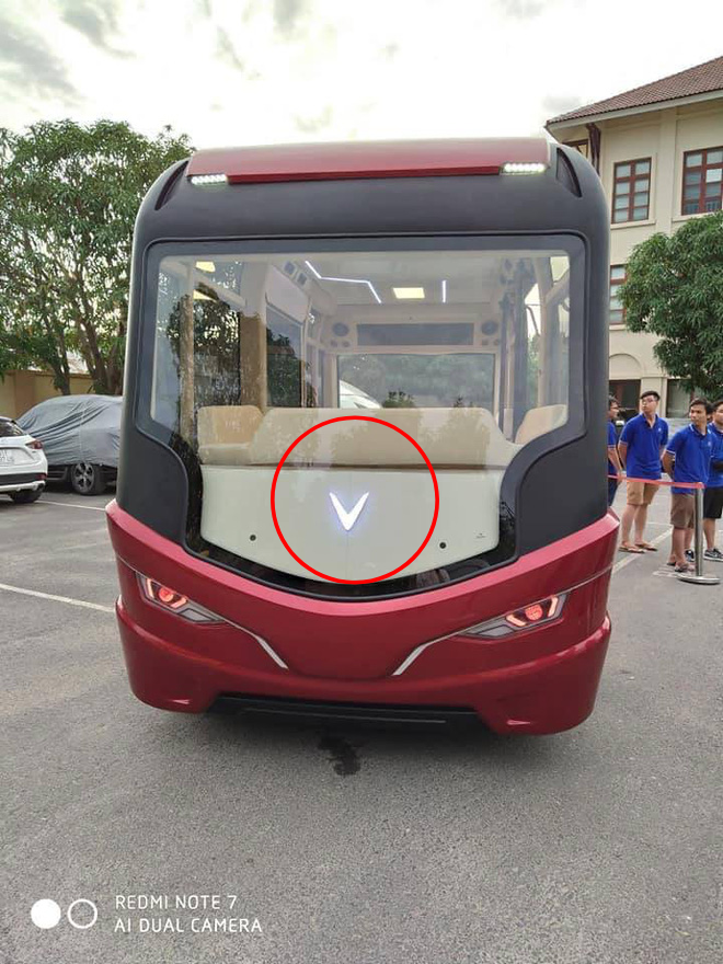 Xuất hiện hình ảnh được cho là chiếc xe buýt của VinFast với thiết kế đến từ tương lai - ảnh 1