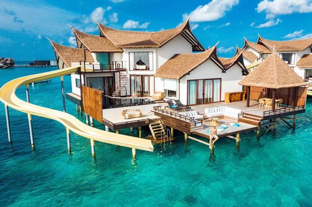 """Hot: Ông bầu Vũ Khắc Tiệp ra vlog mới, chi hẳn nửa tỉ thuê khách sạn sang chảnh nhất Maldives để ở """"sương sương"""" - ảnh 3"""