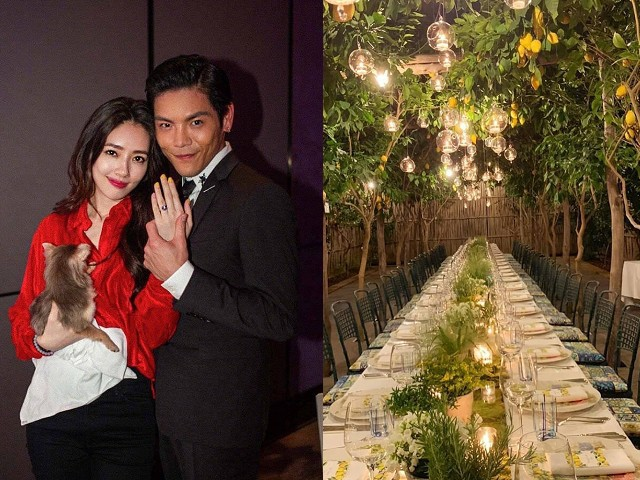 Tổ chức xong hôn lễ bí mật, tình cũ Seungri mới tung bộ ảnh cưới siêu sang, siêu ngọt bên cháu trùm mafia Hong Kong - ảnh 2