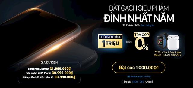 iPhone 11 lộ giá CHÍNH THỨC tại Việt Nam từ một nhà bán lẻ lớn: Tất cả đều nằm trong dự kiến! - ảnh 5