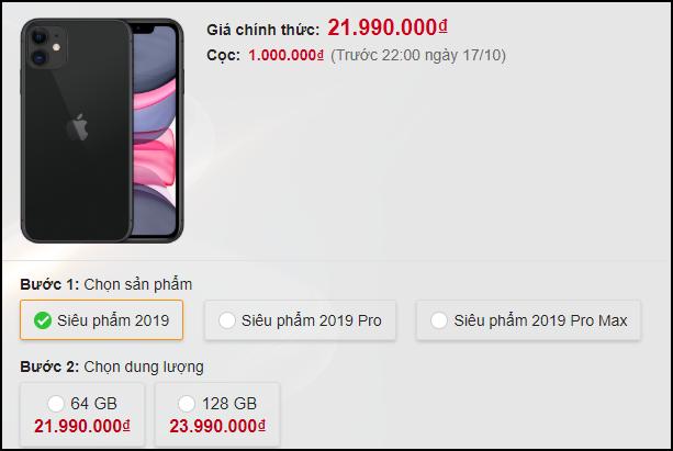 iPhone 11 lộ giá CHÍNH THỨC tại Việt Nam từ một nhà bán lẻ lớn: Tất cả đều nằm trong dự kiến! - ảnh 2