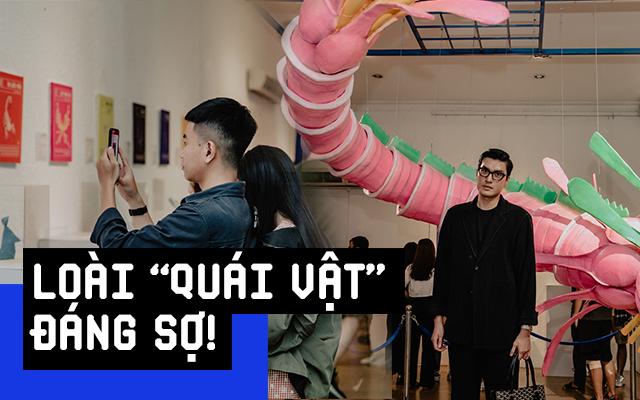 """Giới trẻ Sài Gòn mãn nhãn với hàng loạt tác phẩm 3D tại triển lãm """"Loài Plastic"""": Lâu lắm rồi mới có một dự án bảo vệ môi trường thú vị như thế này!"""