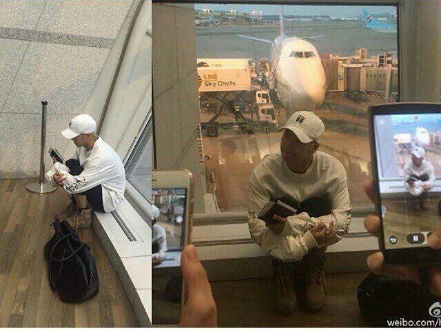 Bị fan chèn bẹp ngoài sân bay chưa là gì, nhìn cảnh tượng idol Kpop phải đối mặt bên trong mới rùng mình - Ảnh 7.
