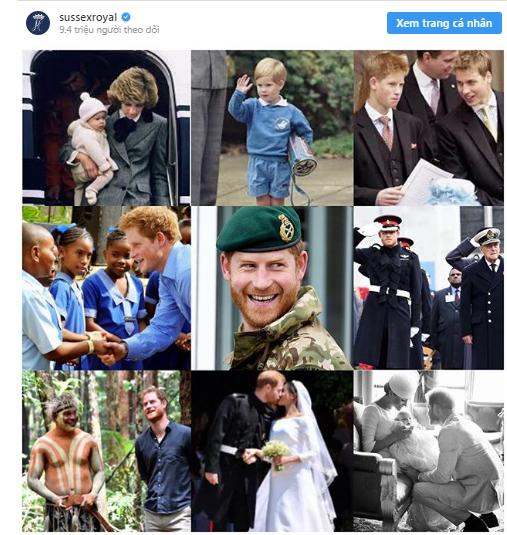 Trước nghi vấn tình cảm rạn nứt, Meghan Markle bất ngờ ngọt ngào với Hoàng tử Harry trong sinh nhật chồng, khoe cả ảnh hiếm của con trai Archie - ảnh 1