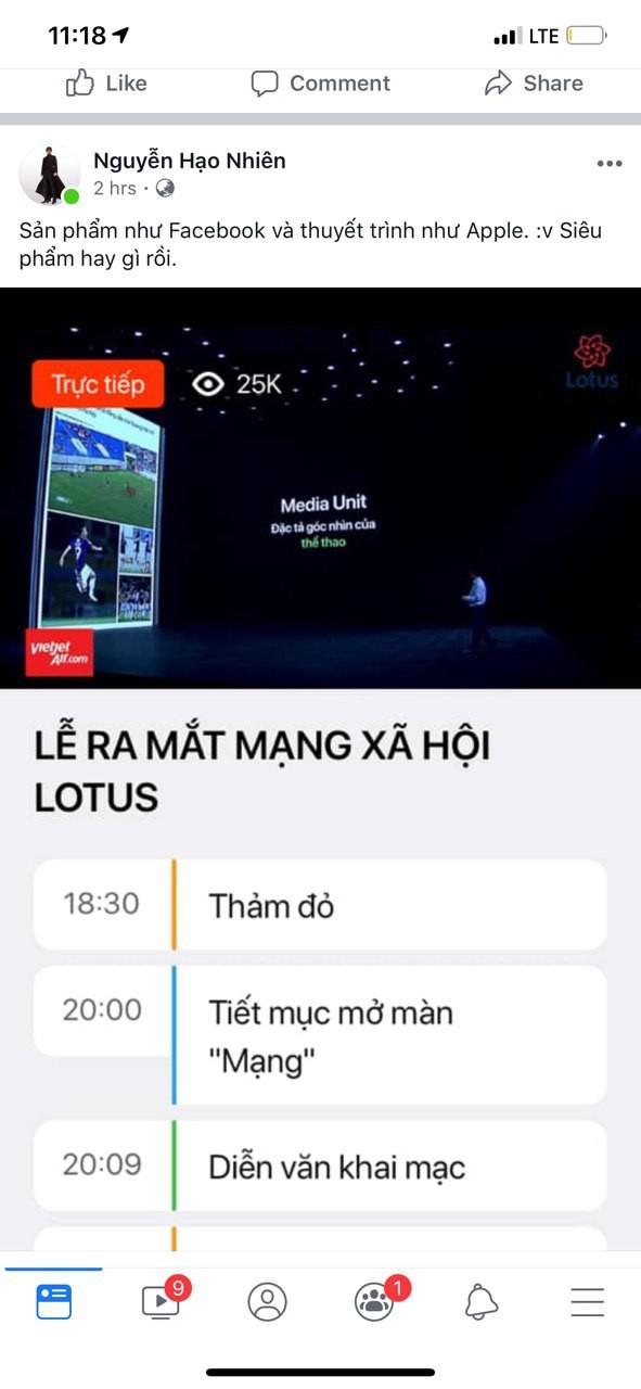 """Dân tình hào hứng sau đêm ra mắt MXH Lotus: """"Có thêm mạng xã hội nữa cũng tốt, có thêm nền tảng cho content sạch cũng tốt"""" - ảnh 3"""