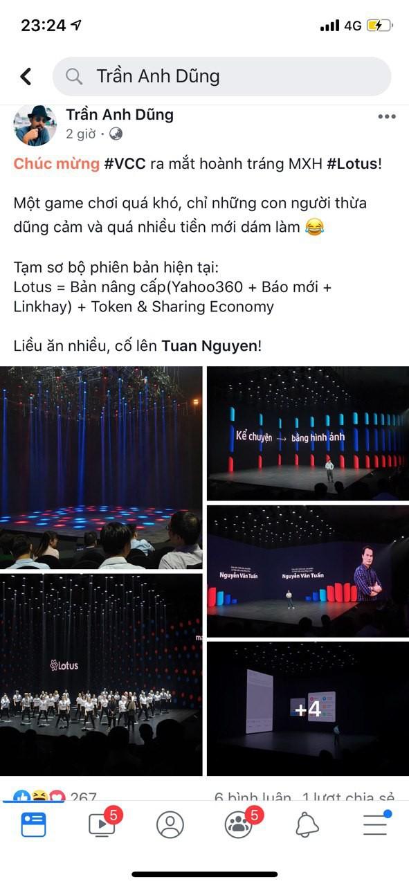 """Dân tình hào hứng sau đêm ra mắt MXH Lotus: """"Có thêm mạng xã hội nữa cũng tốt, có thêm nền tảng cho content sạch cũng tốt"""" - ảnh 7"""