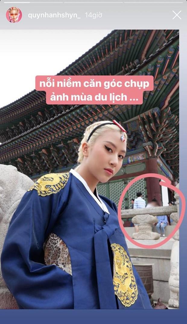 """Phát hiện sở thích """"ngộ nghĩnh nhỉ"""" của Quỳnh Anh Shyn mỗi khi đi du lịch: Lần nào cũng tự tay """"bóc phốt"""" ảnh trên mạng - ngoài đời của hội hotgirl - ảnh 11"""