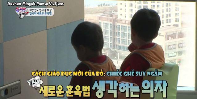 """Học hỏi """"Ông bố quốc dân"""" Song Il Gook: Tưởng chóng mặt với đàn con sinh 3 nhưng lại nhàn tênh với cách dạy con độc đáo - ảnh 5"""