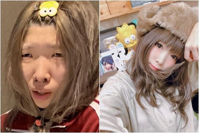 Sở hữu mặt mộc xấu kém xinh, hot girl Nhật Bản vẫn hút cả triệu fan nhờ tài nghệ 'biến hình' đỉnh cao - ảnh 5