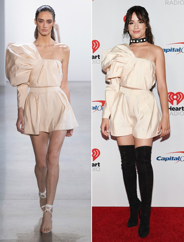 Nếu có một điều gì đáng bàn về Camila Cabello ngoài nụ hôn với Shawn Mendes thì, vâng, cô ấy vừa mặc đồ Công Trí đấy! - ảnh 7