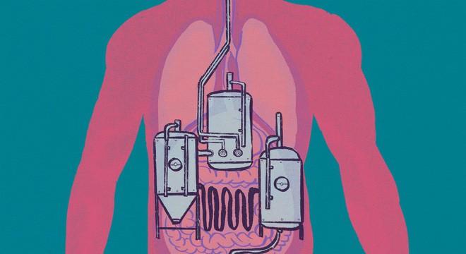 Đường ruột tự sinh ra rượu: Hội chứng kỳ lạ khiến nhiều người ăn cơm cũng say và mắc bệnh gan như người nghiện rượu - ảnh 1