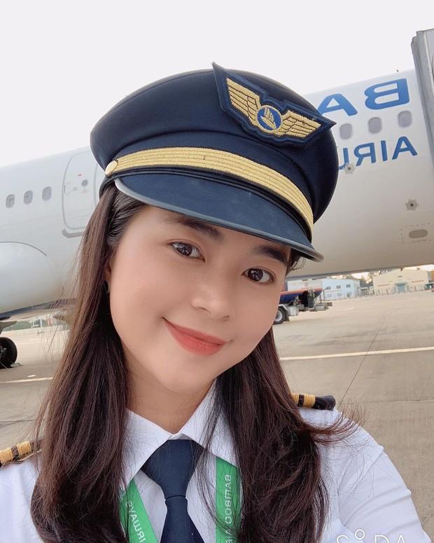 Ai đời than thở tăng kỷ lục 10kg mà nữ phi công Diệu Thuý lại được khen tới tấp vì càng tròn càng đẹp! - ảnh 3