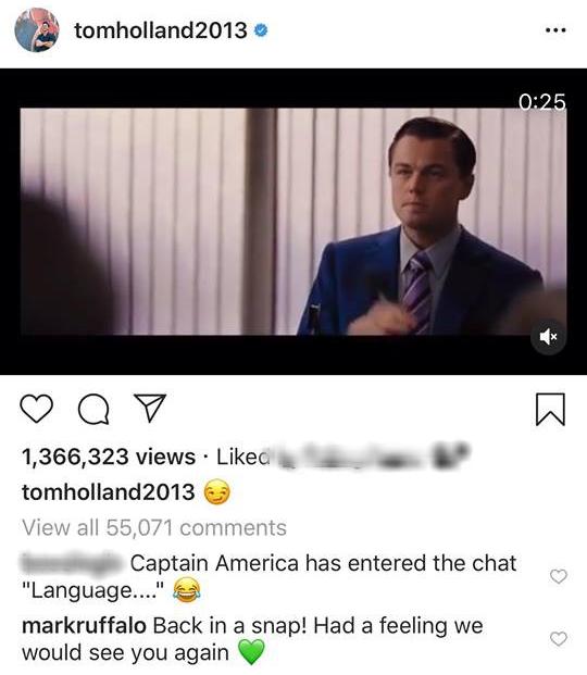 """""""Crush"""" Tom Holland lên MXH đăng clip Spider-Man ngúng nguẩy vòng 3 ăn mừng nhện nhọ hết đi bụi - ảnh 2"""