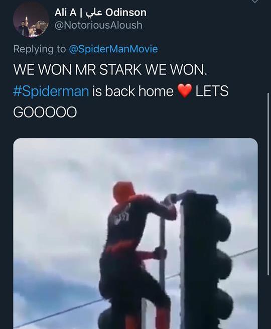 """""""Crush"""" Tom Holland lên MXH đăng clip Spider-Man ngúng nguẩy vòng 3 ăn mừng nhện nhọ hết đi bụi - ảnh 12"""