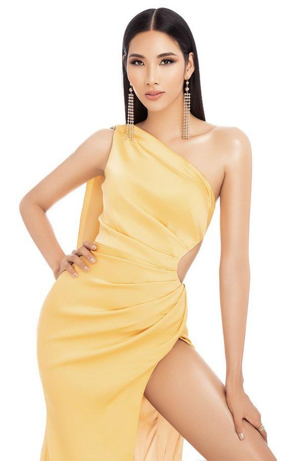 Hoàng Thùy phớt lờ tin đồn nâng ngực để thi Miss Universe 2019, chăm diện váy áo khoe trọn vòng 1 căng tròn - Ảnh 13.