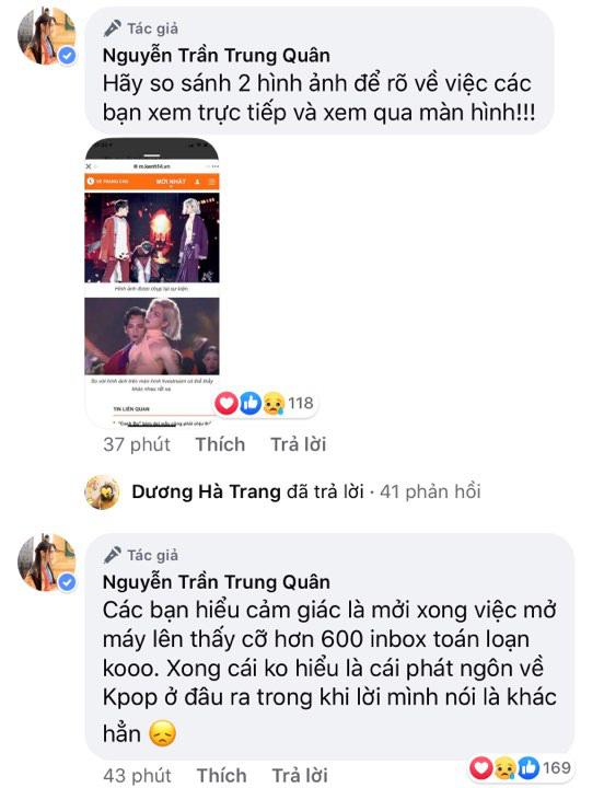 """Nguyễn Trần Trung Quân bức xúc, khủng hoảng khi bị hơn 600 inbox tấn công sau phát ngôn """"đụng chạm"""" idol Kpop! - ảnh 2"""