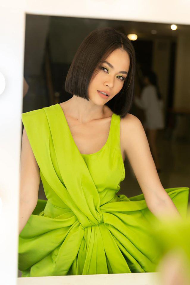 Cùng diện đầm của NTK Công Trí: Hoàng Thùy – Mâu Thủy – Min vẫn tạo nên màn so kè phong cách khác biệt - ảnh 3