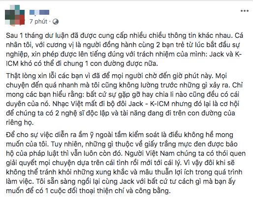 Netizen tinh ý nhận ra mẹ nuôi lần đầu đặt tên Jack lên trước K-ICM, tiếp tục mỉa mai tiêu cực trước chia sẻ mới! - ảnh 1