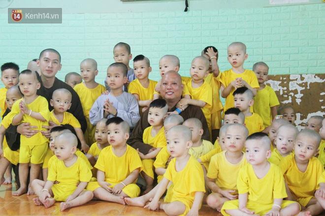 Cuộc sống hiện tại của 110 đứa trẻ bị bố mẹ bỏ rơi ở mái ấm Đức Quang sau khi bé Đức Lộc về với cửa Phật - ảnh 7