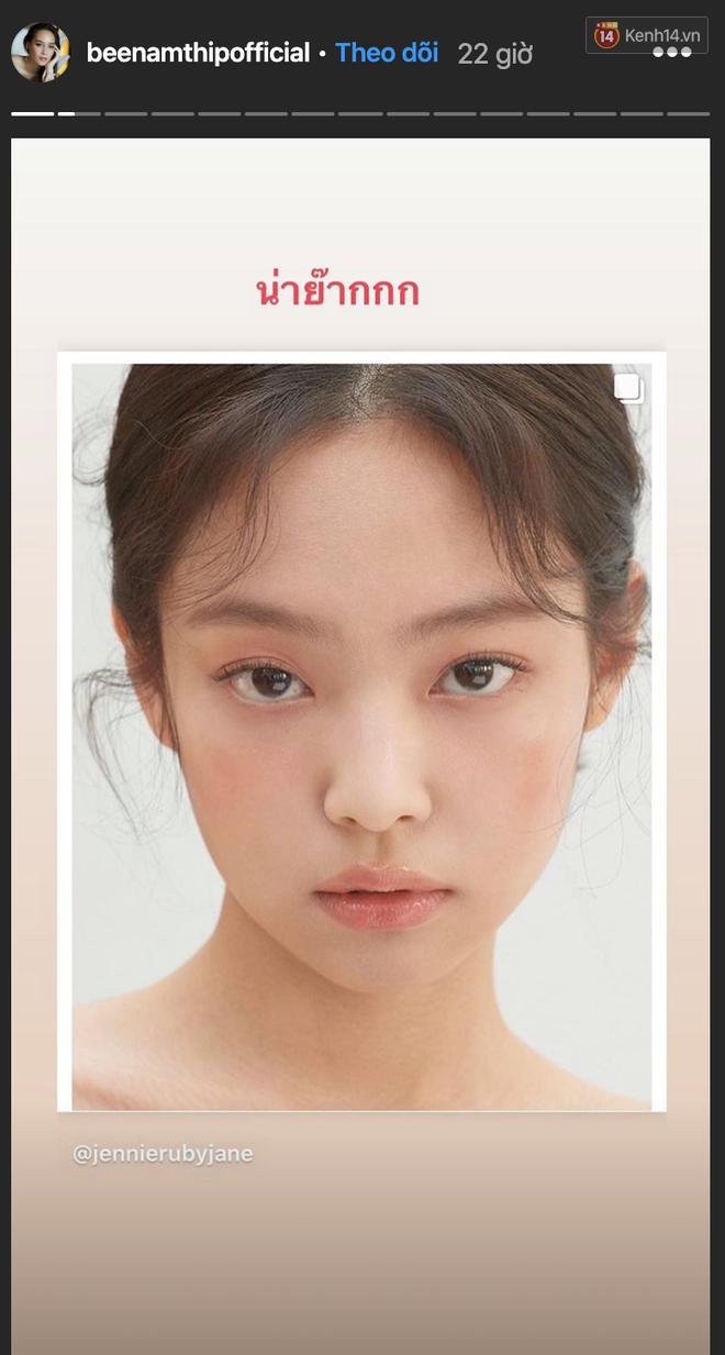 Jennie xinh đẹp mơn mởn với kiểu makeup quả đào khiến Rosé, Trà Long, Khánh Linh phải xuýt xoa - ảnh 7