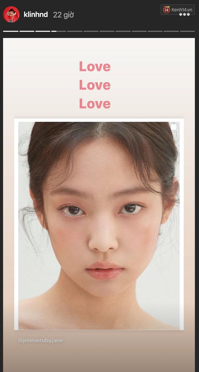Jennie xinh đẹp mơn mởn với kiểu makeup quả đào khiến Rosé, Trà Long, Khánh Linh phải xuýt xoa - ảnh 5