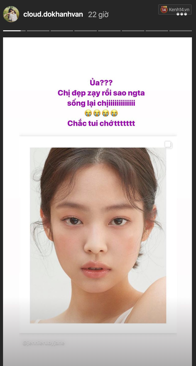 Jennie xinh đẹp mơn mởn với kiểu makeup quả đào khiến Rosé, Trà Long, Khánh Linh phải xuýt xoa - ảnh 6
