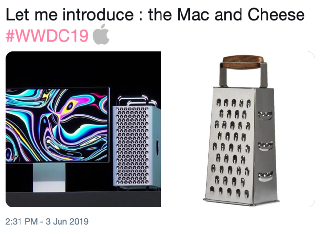 Điều gì sẽ xảy ra khi bạn đem chiếc Mac Pro 6000 USD đi nạo phô mai? - ảnh 1