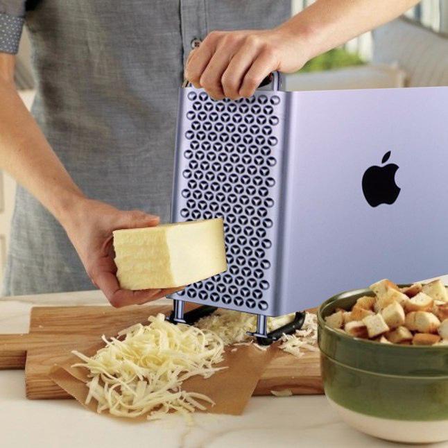 Điều gì sẽ xảy ra khi bạn đem chiếc Mac Pro 6000 USD đi nạo phô mai? - ảnh 2