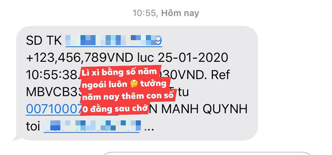 Giản dị về quê ăn Tết nhưng Phan Mạnh Quỳnh lại mạnh tay lì xì 123.456.789 đồng cho bạn gái: Bạn trai nhà người ta là đây! - ảnh 1