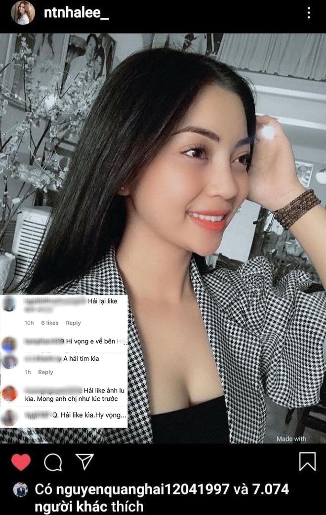Quang Hải lại tương tác với Nhật Lê trên Instagram: Đã quay lại hay vẫn là bạn bè sau chia tay? - ảnh 1