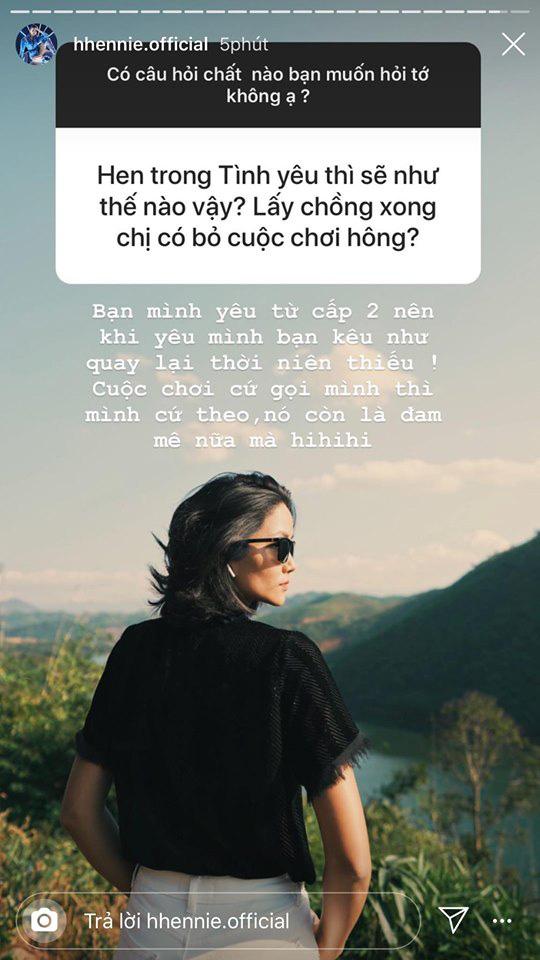 Không còn bí ẩn, HHen Niê giờ đã thoải mái trả lời 1001 câu hỏi về người yêu, nói gì về thời điểm kết hôn? - Ảnh 2.