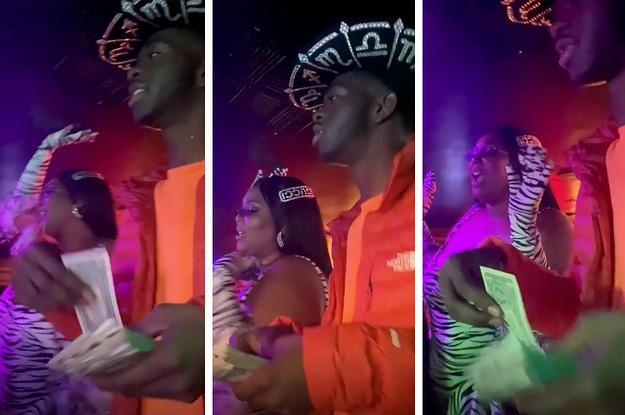 Dua Lipa bị chỉ trích khi ném tiền vào vũ nữ thoát y tại bữa tiệc hậu Grammy, Lizzo và Lil Nas X hành động tương tự nhưng lại thoát tội? - ảnh 2