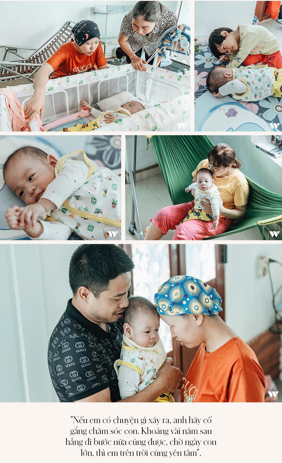 Đỗ Bình An đã được 6 tháng tuổi: Câu chuyện phi thường của người mẹ ung thư giai đoạn cuối, quyết sinh con bằng tất cả tình yêu thương và lòng dũng cảm - Ảnh 15.