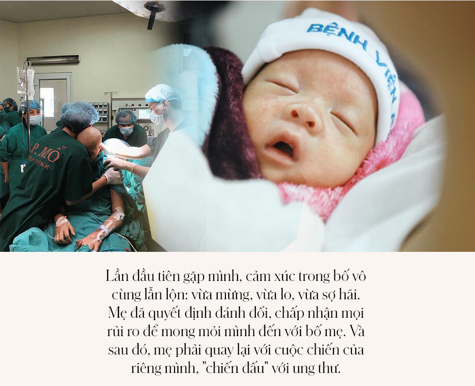 Đỗ Bình An đã được 6 tháng tuổi: Câu chuyện phi thường của người mẹ ung thư giai đoạn cuối, quyết sinh con bằng tất cả tình yêu thương và lòng dũng cảm - Ảnh 5.