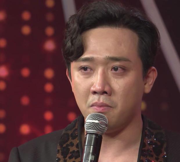Những lần Trấn Thành gây chú ý vì rơi nước mắt trên sóng truyền hình - Ảnh 4.