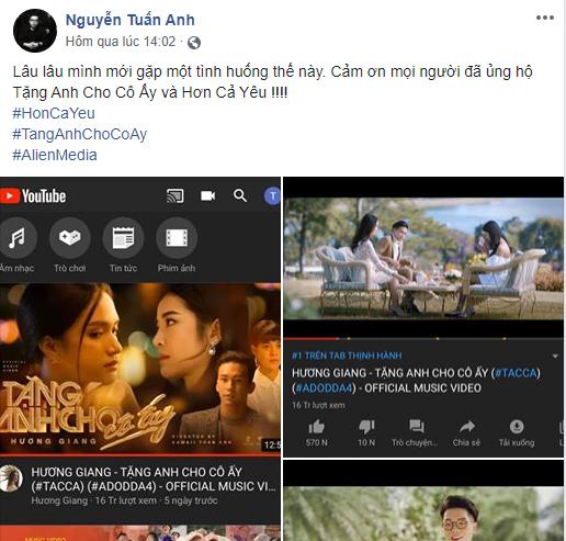 Hết Hương Giang đến Đức Phúc liên tiếp công phá top 1 trending YouTube, đạo diễn Kawaii Tuấn Anh mở bát năm mới mát tay quá nhỉ? - ảnh 1