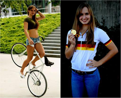 Ấn tượng với nữ hoàng xe đạp: Cô nàng xinh đẹp với theo đuổi môn nghệ thuật ít ai biết tới - ảnh 2