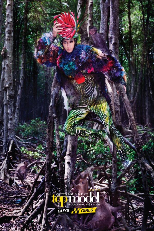 Hoàng Gia Anh Vũ từng khiến Thanh Hằng để mắt đến khi thi Vietnam's Next Top Model - ảnh 1