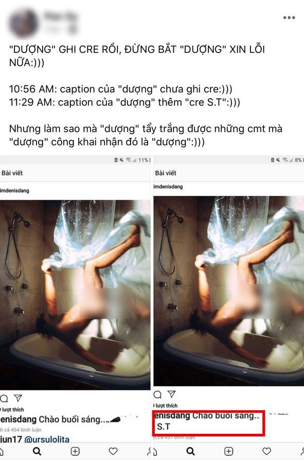 Denis Đặng có động thái tích cực, sửa lỗi sau khi bị tố vay mượn ý tưởng loạt ảnh trên Instagram nhưng netizen vẫn chưa hài lòng? - ảnh 1
