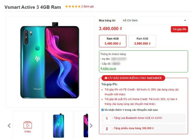Mới ra mắt 1 tháng, Vsmart Active 3 đã có giá mới tốt hơn, smartphone Trung Quốc biết sống sao? - ảnh 2