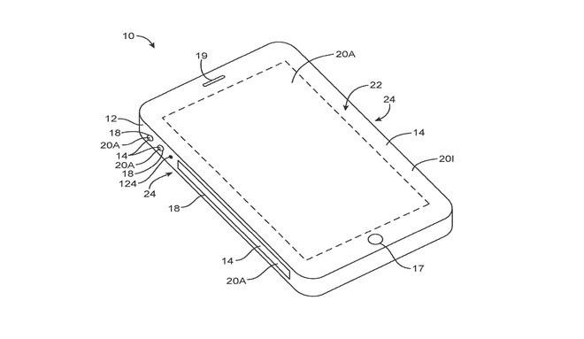 Bằng sáng chế iPhone kỳ lạ: Apple muốn sản xuất với màn hình cuộn quanh thân máy - ảnh 2
