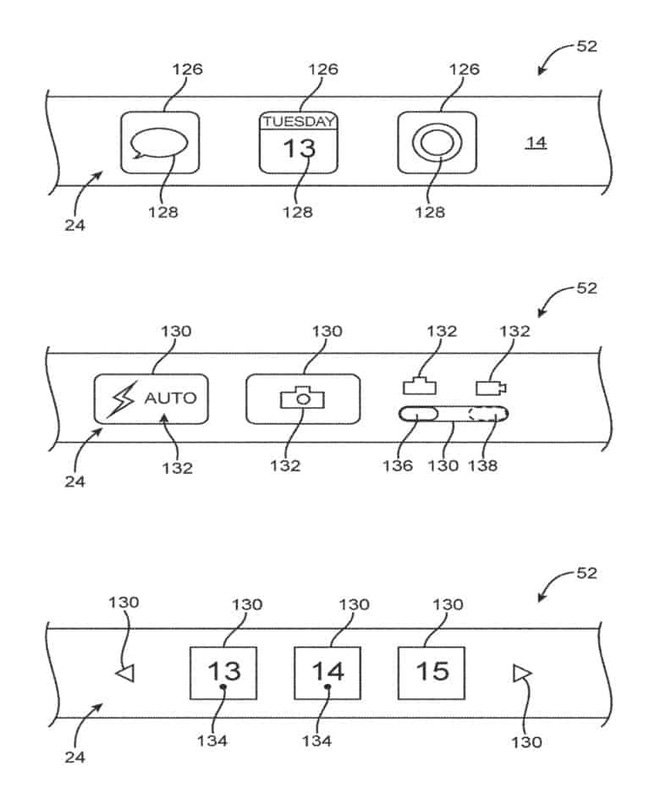 Bằng sáng chế iPhone kỳ lạ: Apple muốn sản xuất với màn hình cuộn quanh thân máy - ảnh 3