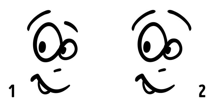 Chọn 1 trong 2 từ bộ 30 khuôn mặt dưới đây sẽ giúp bạn biết được mình là người như thế nào, tính cách ra sao - ảnh 23