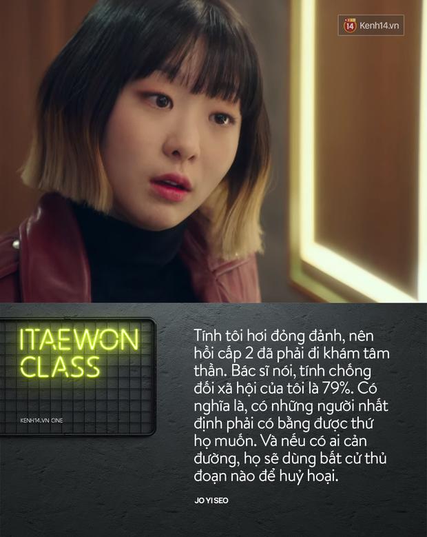 Thánh độc miệng Jo Yi Seo (Tầng Lớp Itaewon): Phán bạn rượu là ăn mày, 1001 lần vạ miệng rồi bị quát không kịp vuốt mặt - ảnh 1