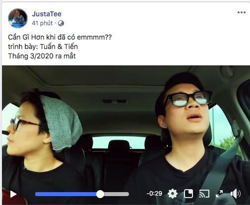 Justatee - Tiên Tiên bất ngờ kết hợp thành cặp đôi Tuấn và Tiến, ra ca khúc lần đầu hợp tác vào tháng 3 nhưng dự án tháng 4 và tháng 5 mới gây chú ý! - ảnh 2