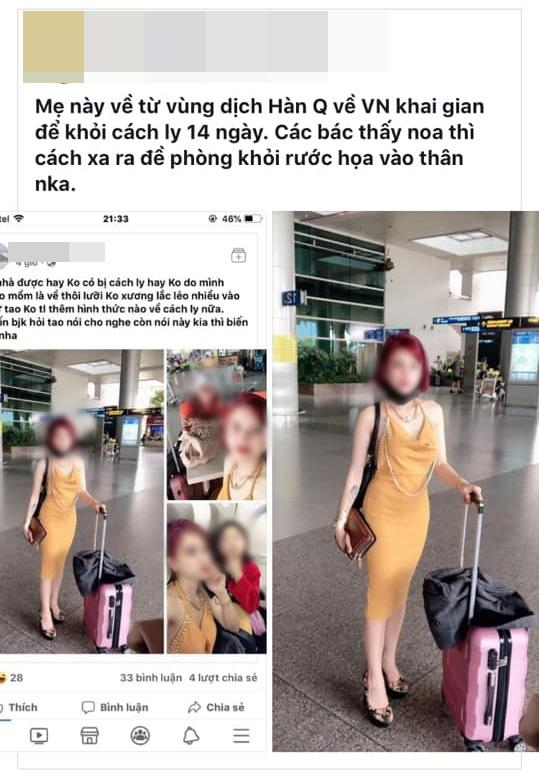 Phẫn nộ cô gái Việt livestream tại sân bay, khoe trốn cách ly khi vừa về từ tâm dịch Hàn Quốc: Người phụ nữ khôn, sống bằng cái não nên không bị cách ly - ảnh 3