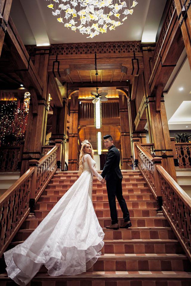 Lương Bằng Quang đăng ảnh cưới bên Ngân 98, netizen ồ ạt chúc mừng nhưng vẫn bán tín bán nghi - ảnh 1