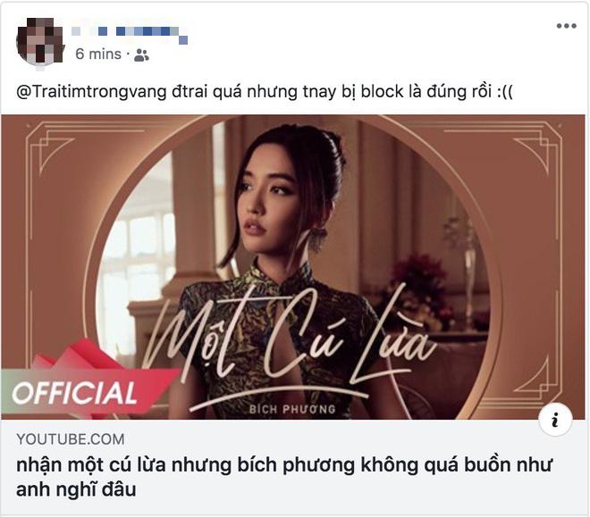 BigDaddy, Orange và netizen đồng loạt ca ngợi MV Một Cú Lừa của Bích Phương, lừa người ta thế này bảo sao @traitimtrongvang bị block! - Ảnh 9.