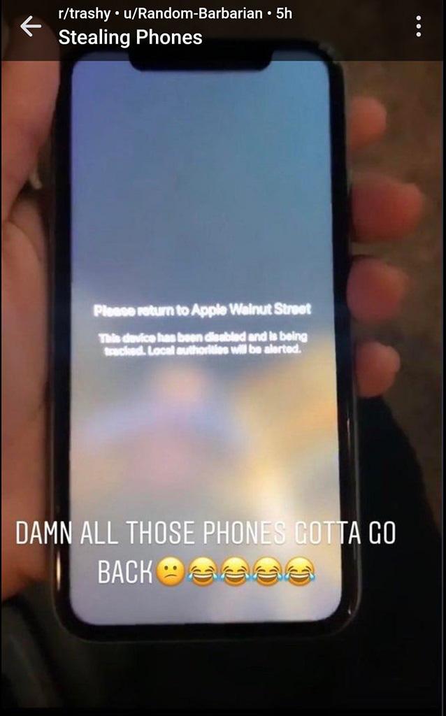 Lợi dụng bạo loạn ở Mỹ để khoắng sạch iPhone trong cửa hàng, kẻ trộm ngớ người vì một nước đi cao tay của Apple - Ảnh 3.